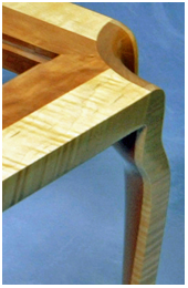 Unique table leg design